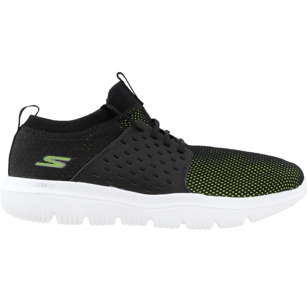 6aa32b5654d Skechers Gowalk Evolution Ultra Running Shoes - Black - Mens