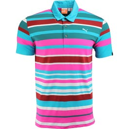 Roadmap Stripe Golf Polo Shirt