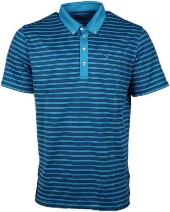 Stripe Pocket Polo
