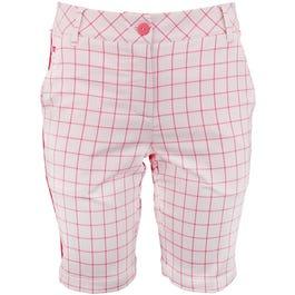 Pattern Tech Bermuda Shorts