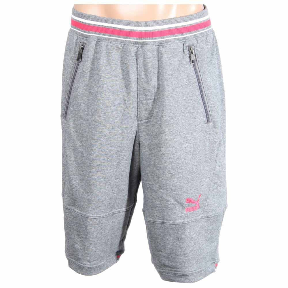 Puma Progressive Shorts Grey - Mens  - Size