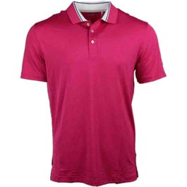 Short Sleeve Tailored Tipped Polo