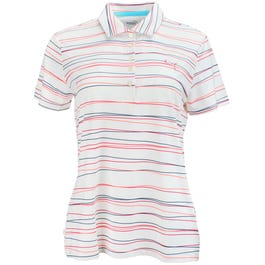 Road Map Stripe Golf Polo Shirt