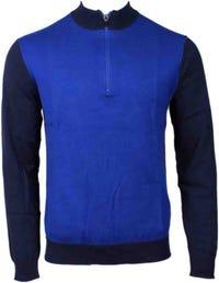 Deals on Puma Tailored Block Quarter-Zip Sweater
