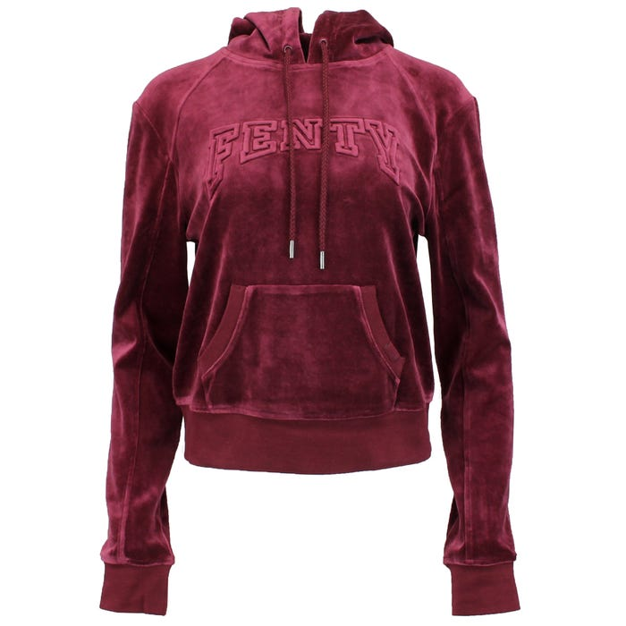 Fenty by Rihanna Velour Hooded Pullover