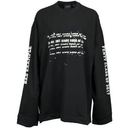 18f85fbcc Fenty by Rihanna Long Sleeve Graphic Crew Neck T-Shirt. Women's