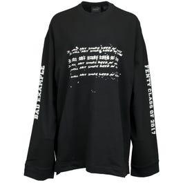 Fenty by Rihanna Long Sleeve Graphic Crew Neck T-Shirt