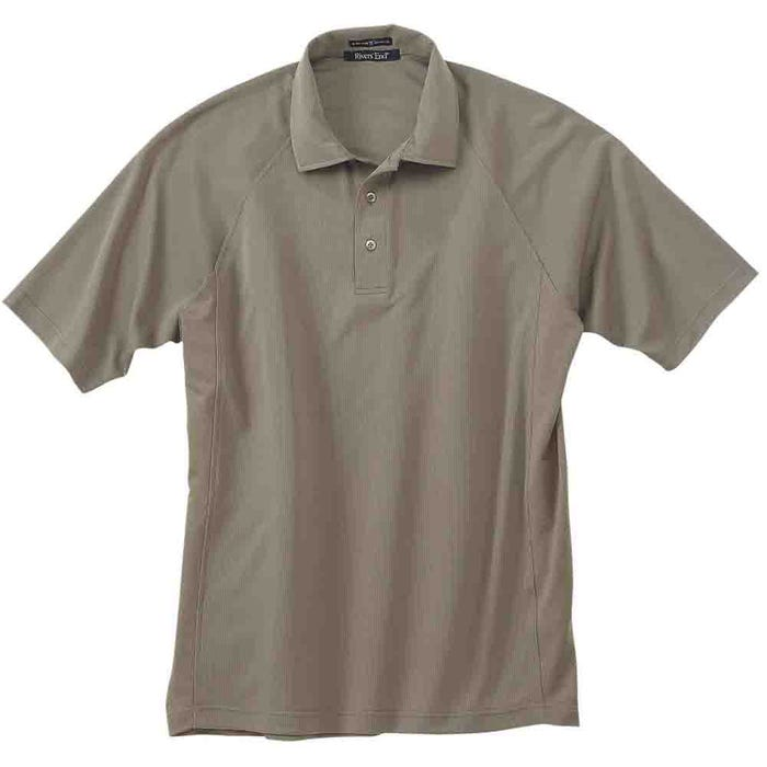 River's End UPF 30+ Solid Athletic Polo