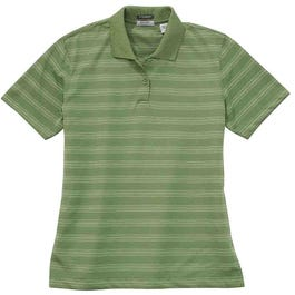 River's End UPF 30+ Striped Polo
