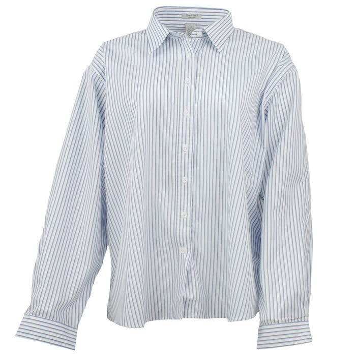 Long Sleeve EZCare Striped Shirt