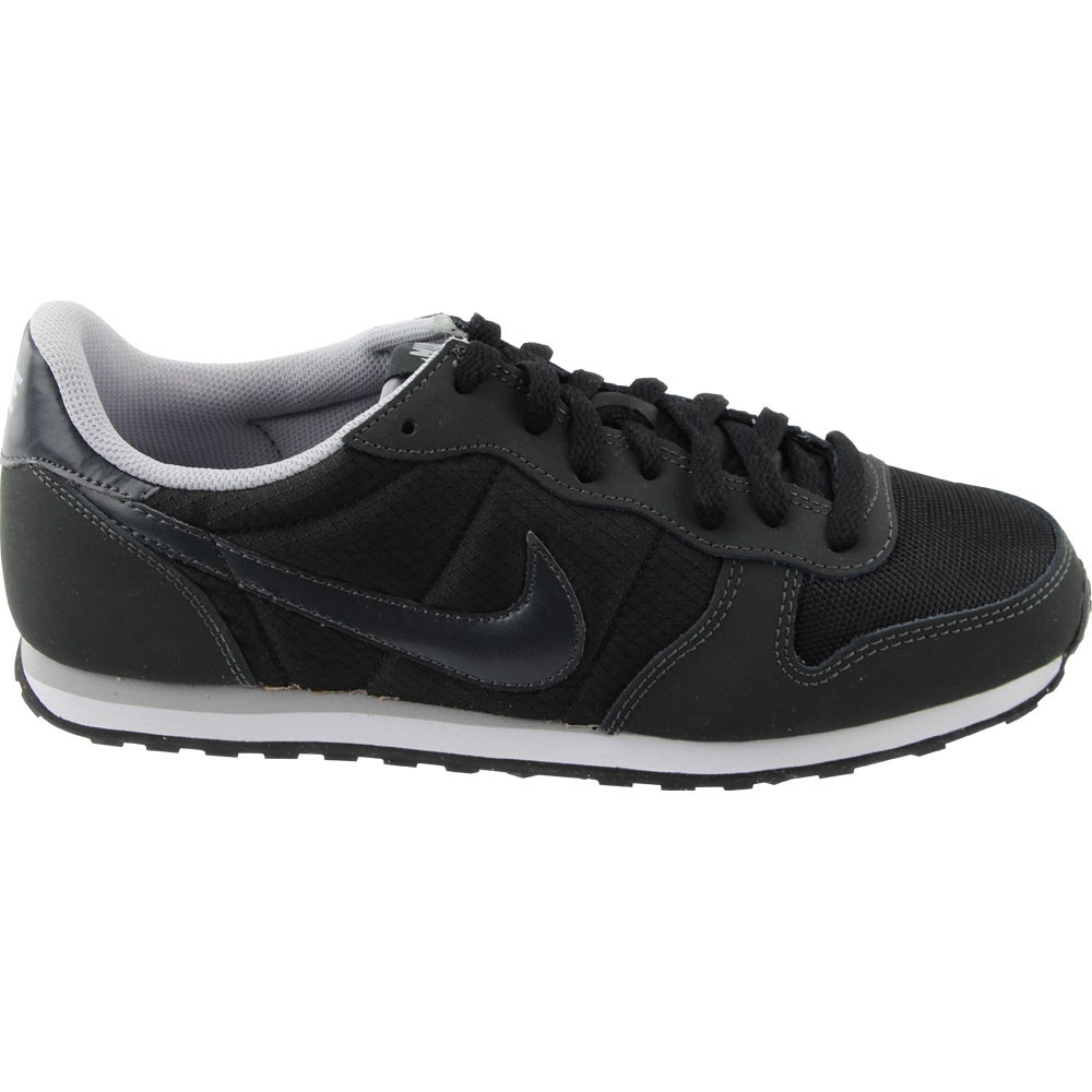 Nike Genicco - Black - Womens The Genicco a updated retro shoe that lets you show off your style. Allowing for comfort and support. The Genicco features a padded collar and tongue. Along with low profile walls that allow for flexibility and movement the Gennico will keep your style going.