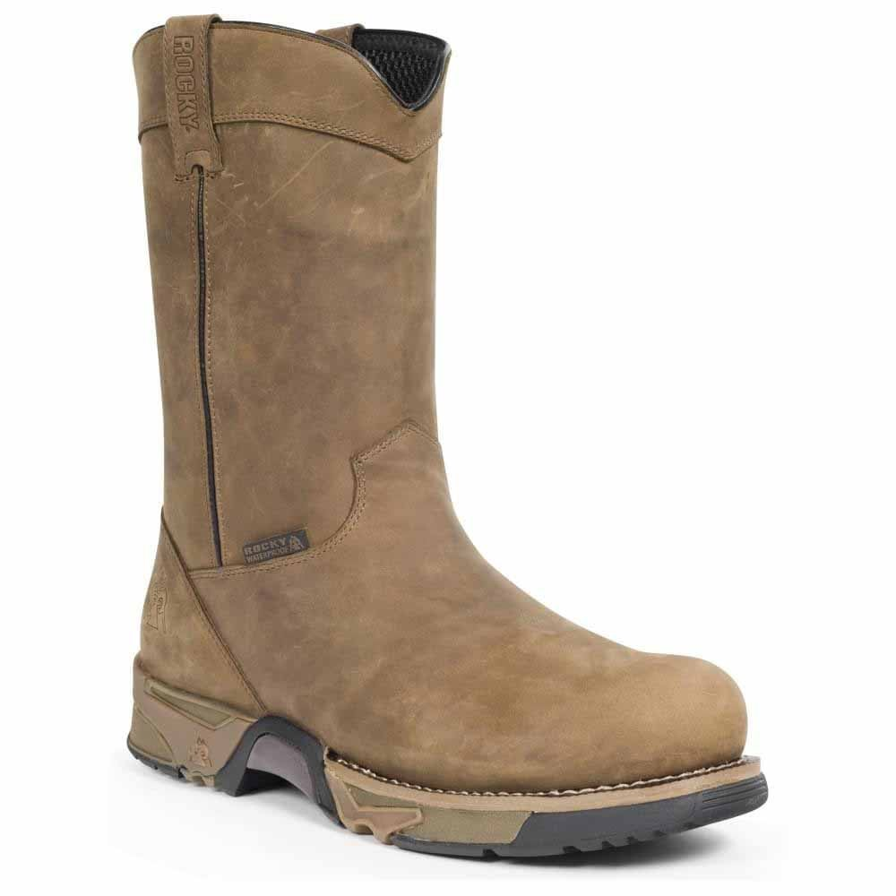 Rocky Aztec Steel Toe Waterproof Wellington  - braun braun braun - Mens cd67b6