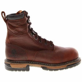 e2efe10ddc5 Timberland Pro 6in Barstow Wedge Moc Alloy Toe Brown Work Boots and ...