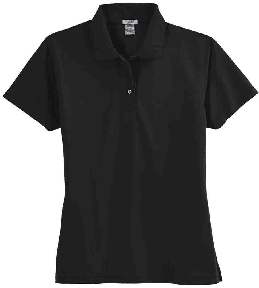 Rivers End Performance Edge Polo Black - Womens  - Size S