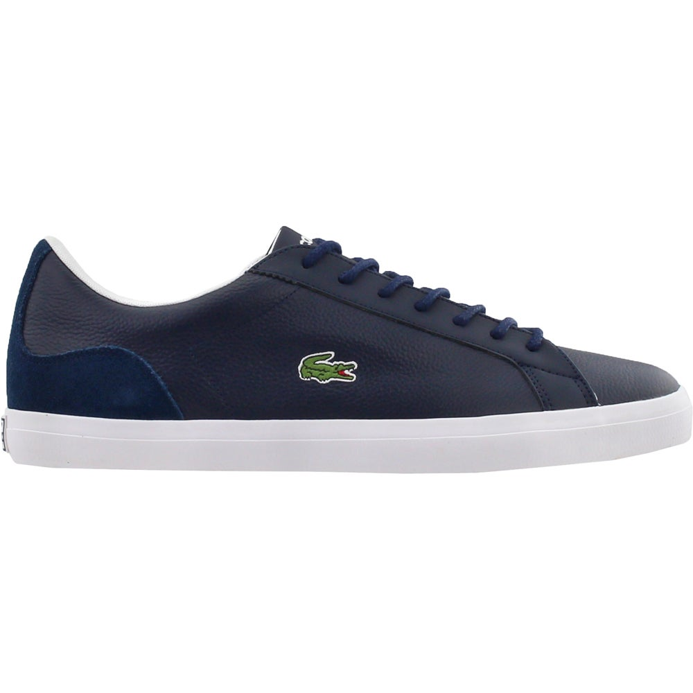84a503d5dc5a Details about Lacoste Lerond 318 3 Sneakers - Navy - Mens