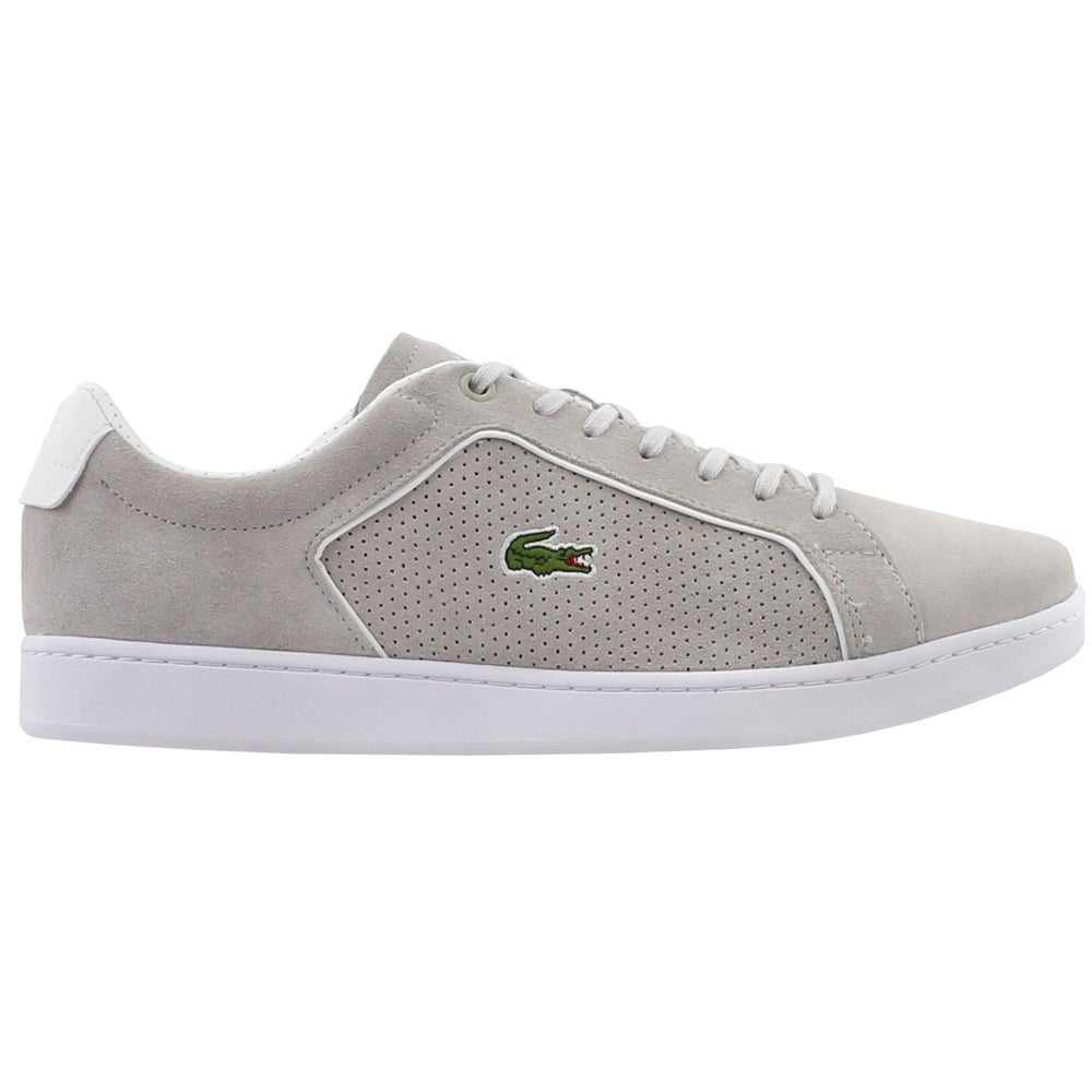 5d34b7639 Details about Lacoste Carnaby Evo 318 Sneakers - Grey - Mens