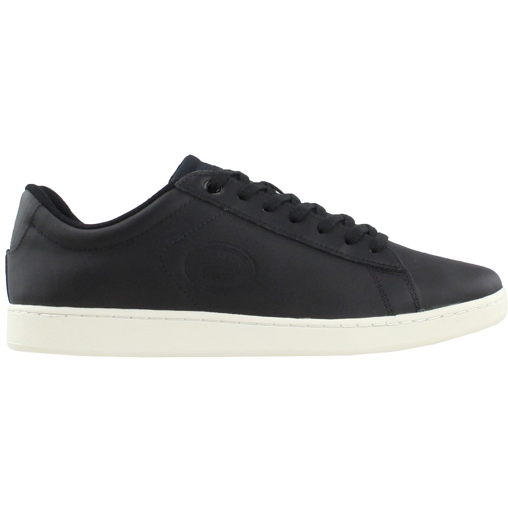 01a544d5e766 Details about Lacoste Carnaby EVO Sneakers - Black - Mens