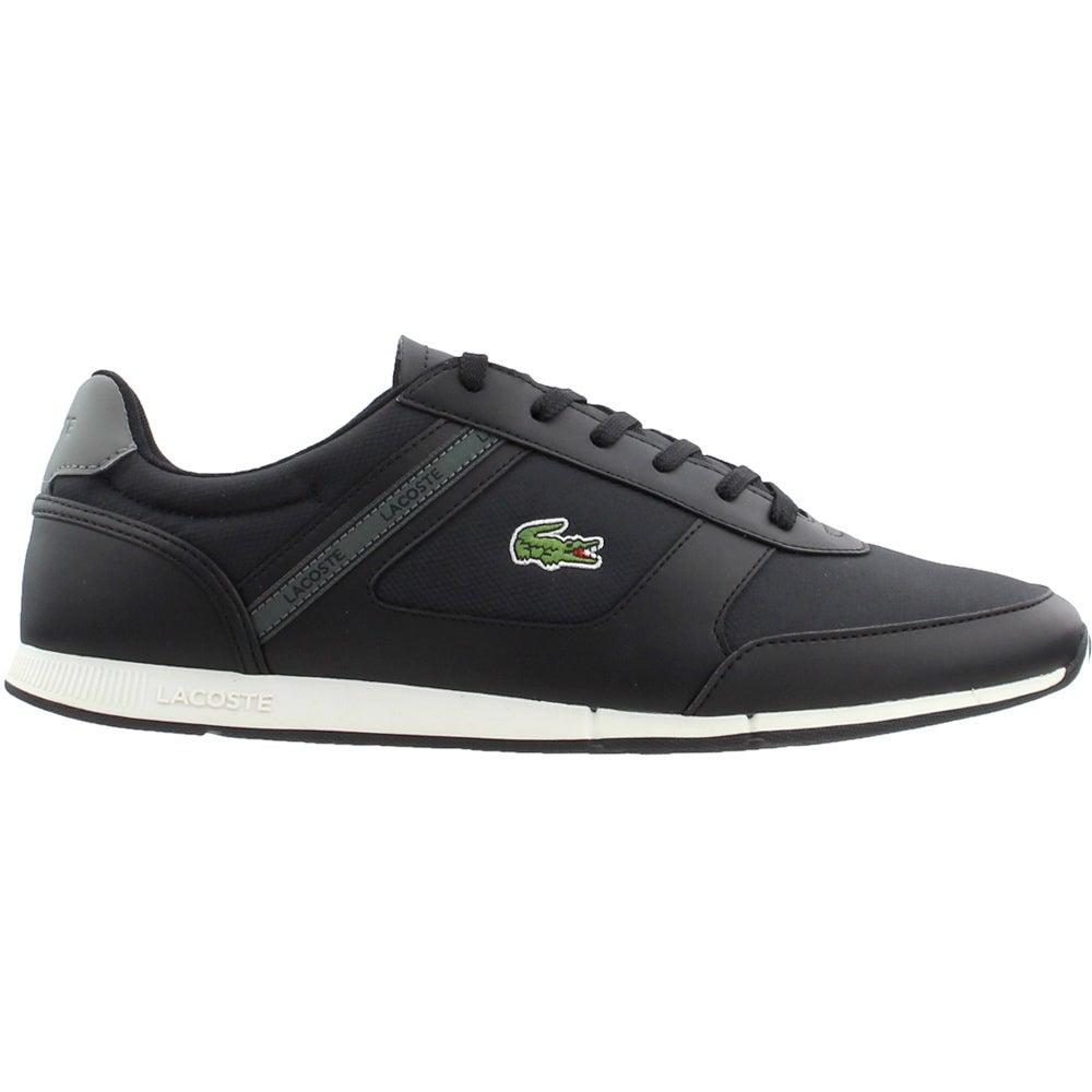 ed683e965d Details about Lacoste Menerva Sport 119 2 Sneakers - Black - Mens