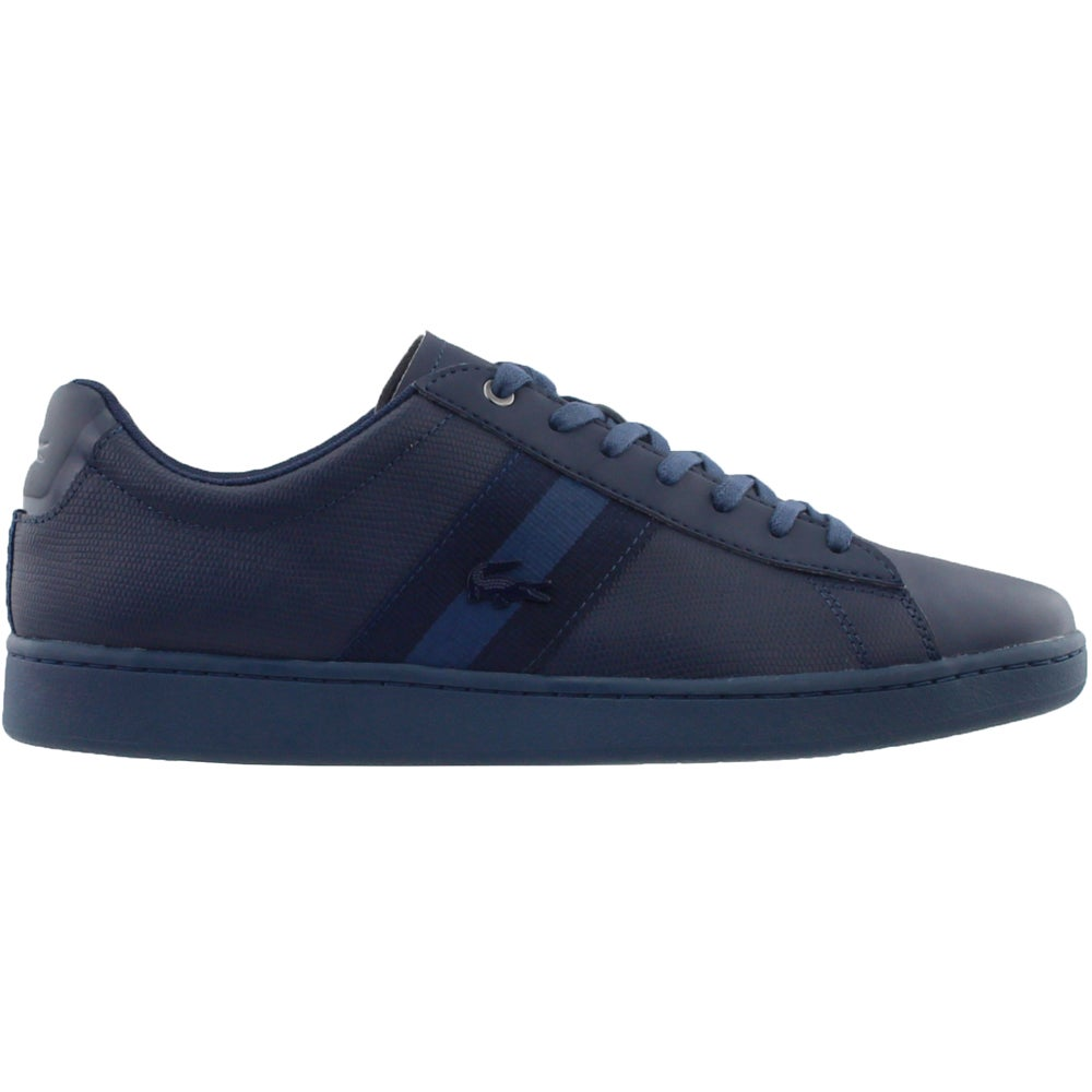 c3fe1aff3 Details about Lacoste Carnaby EVO 119 5 SMA Sneakers - Navy - Mens