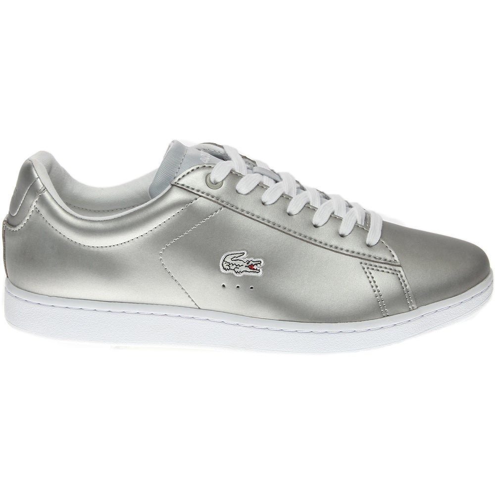 da667c34543eb Details about Lacoste Carnaby EVO 117 3 Sneakers - Grey - Womens
