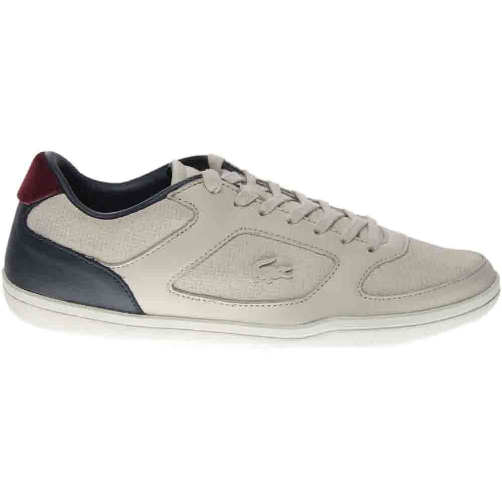 cecb0a42fa80 Details about Lacoste Court Minimal 317 1 Sneakers - Grey - Mens