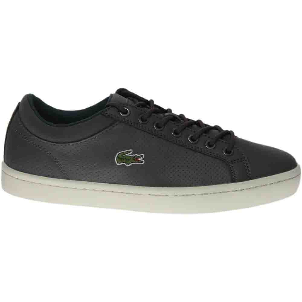 292463cb9f642 Details about Lacoste Straightset SP 317 1 Sneakers - Grey - Mens