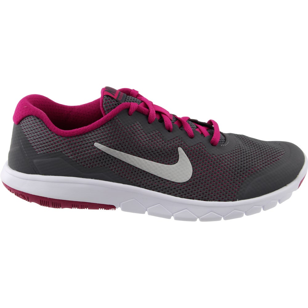 Details about Nike Flex Experience 4 Grade School Casual Running Neutral Shoes Grey Girls