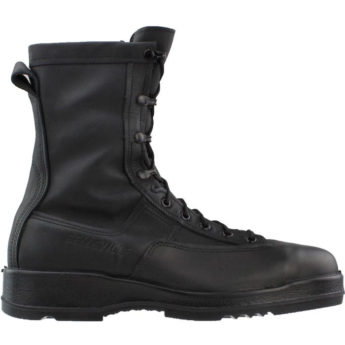 WP Black Safety Toe Flight Flight Deck Boot