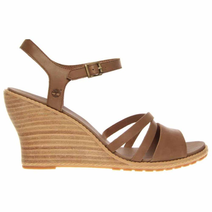 Timberland Earthkeepers Maeslin Ankle Strap Brown Sandals