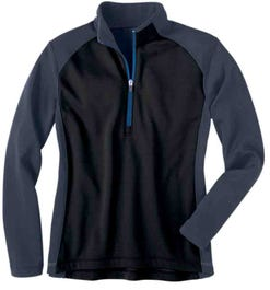 River's End Half Zip Microfleece Layering Jacket