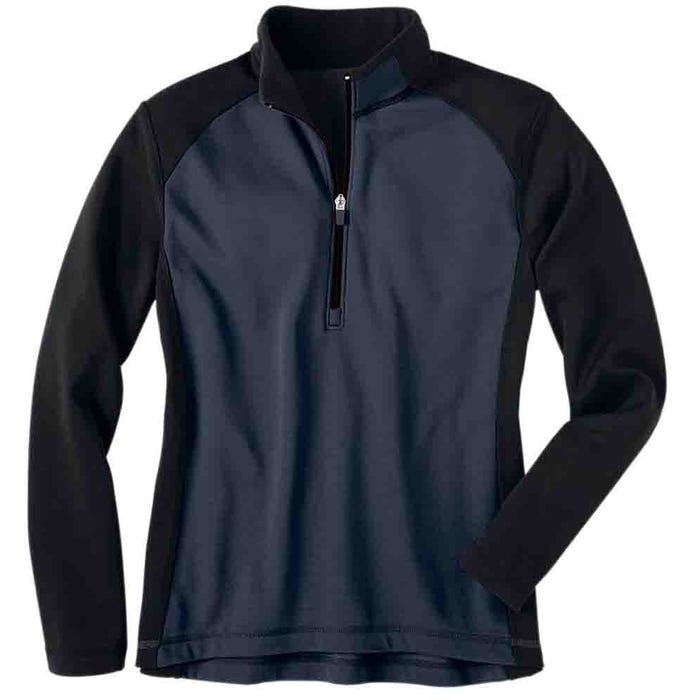 Half Zip Microfleece Layering Jacket