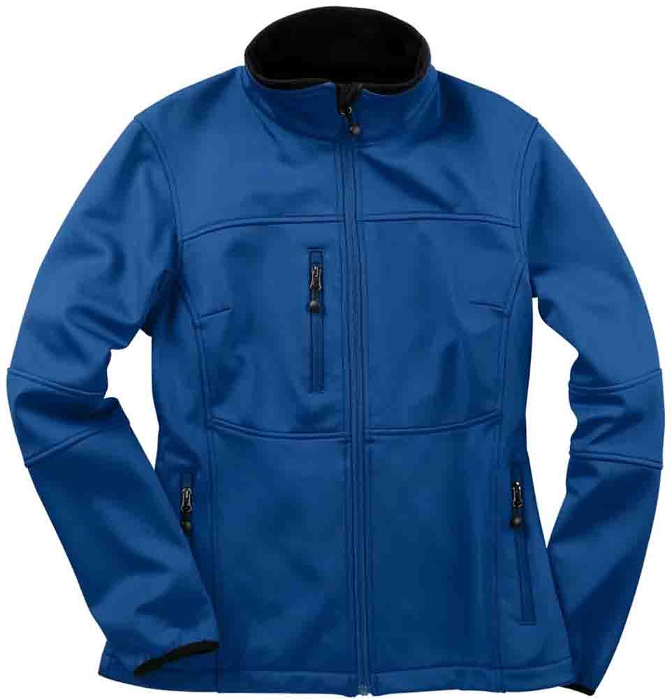 River's End Soft Shell Jacket - Blue - Womens