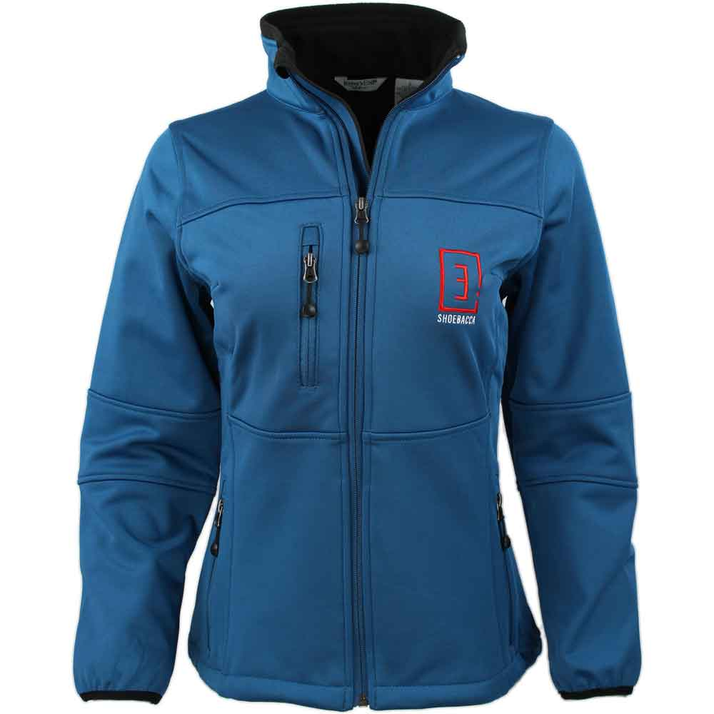 Shoebacca Soft Shell Jacket - Blue - Womens