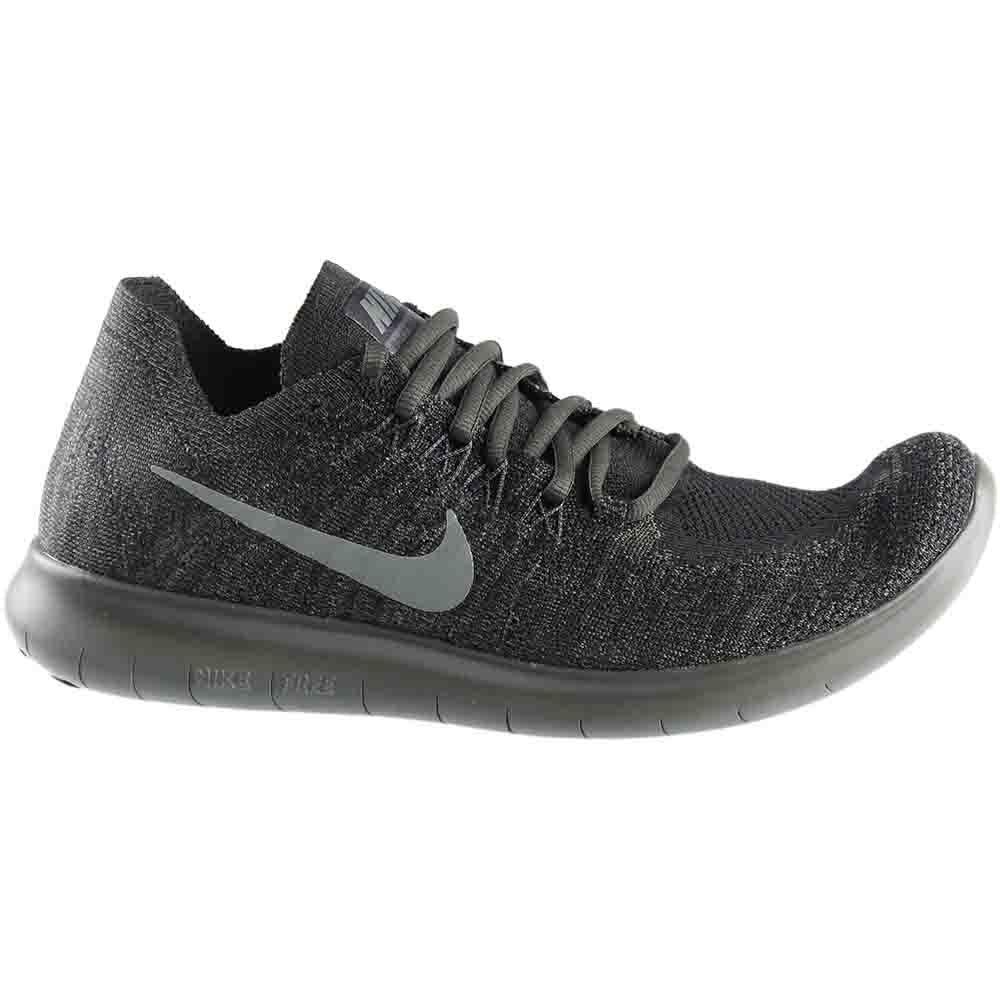 34a077fc8c Nike Free RN Flyknit 2017 Running Shoes- Black- Mens (880843-012)