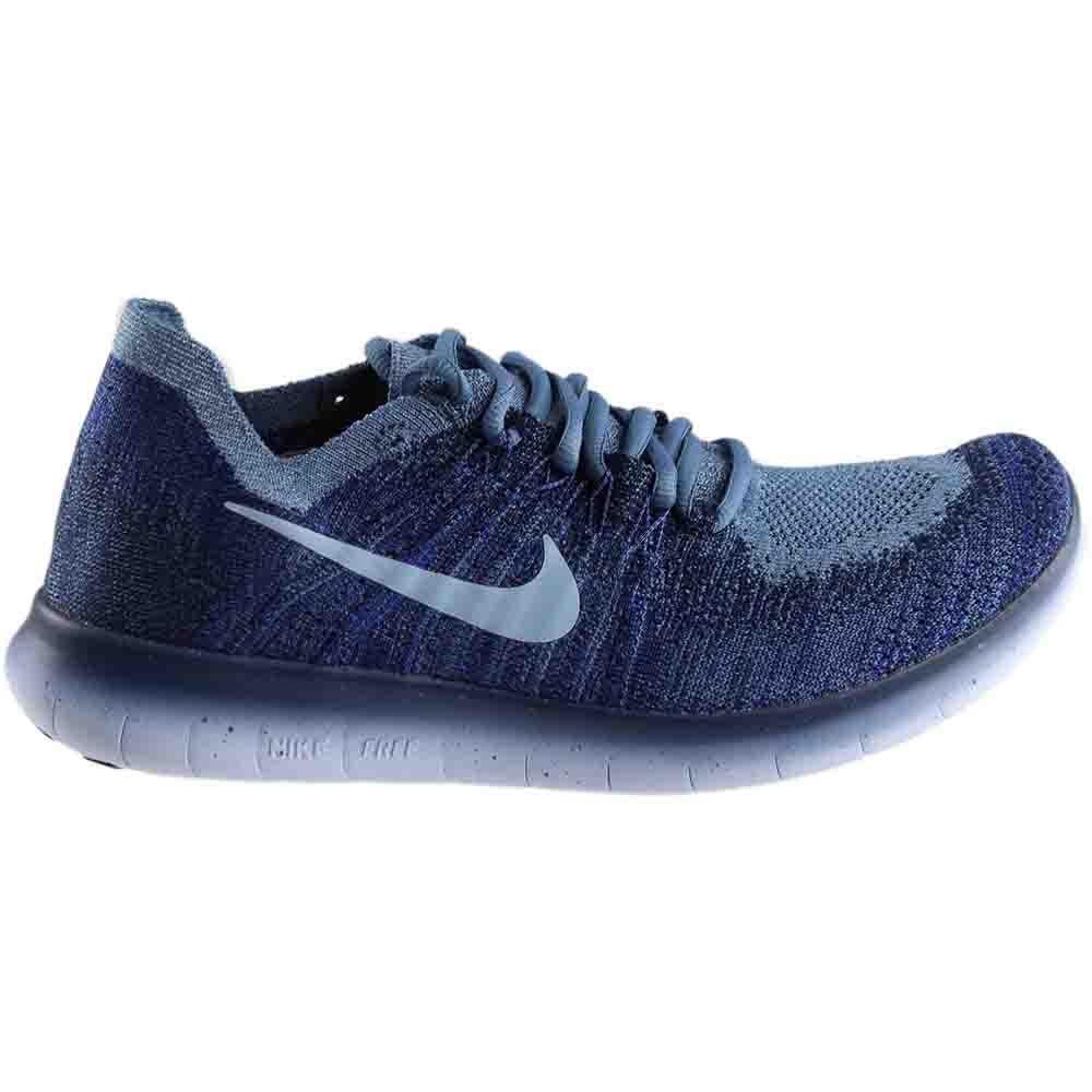 Nike Free RN Flyknit 2017 Blue - Womens  - Size 9