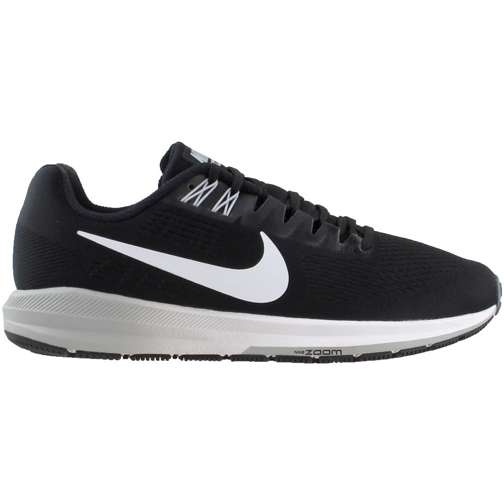 purchase cheap 4dcdc 09c43 Details about Nike Air Zoom Structure 21 Running Shoes - Black - Mens
