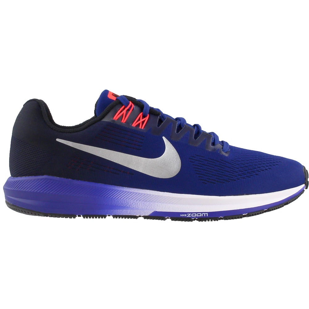 best service e5df7 347b5 Details about Nike Air Zoom Structure 21 Running Shoes - Blue - Mens