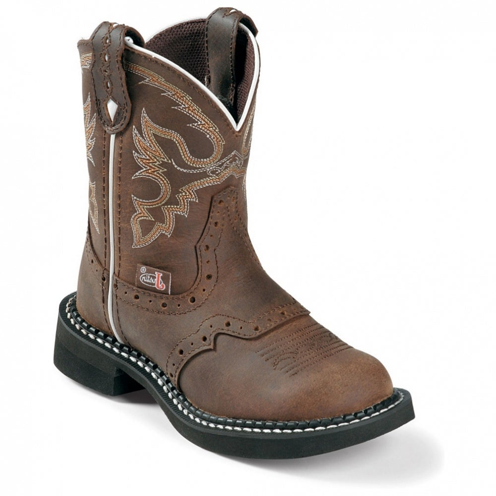 Justin Boots Gypsy Collection Aged Bark (Toddler / Youth)