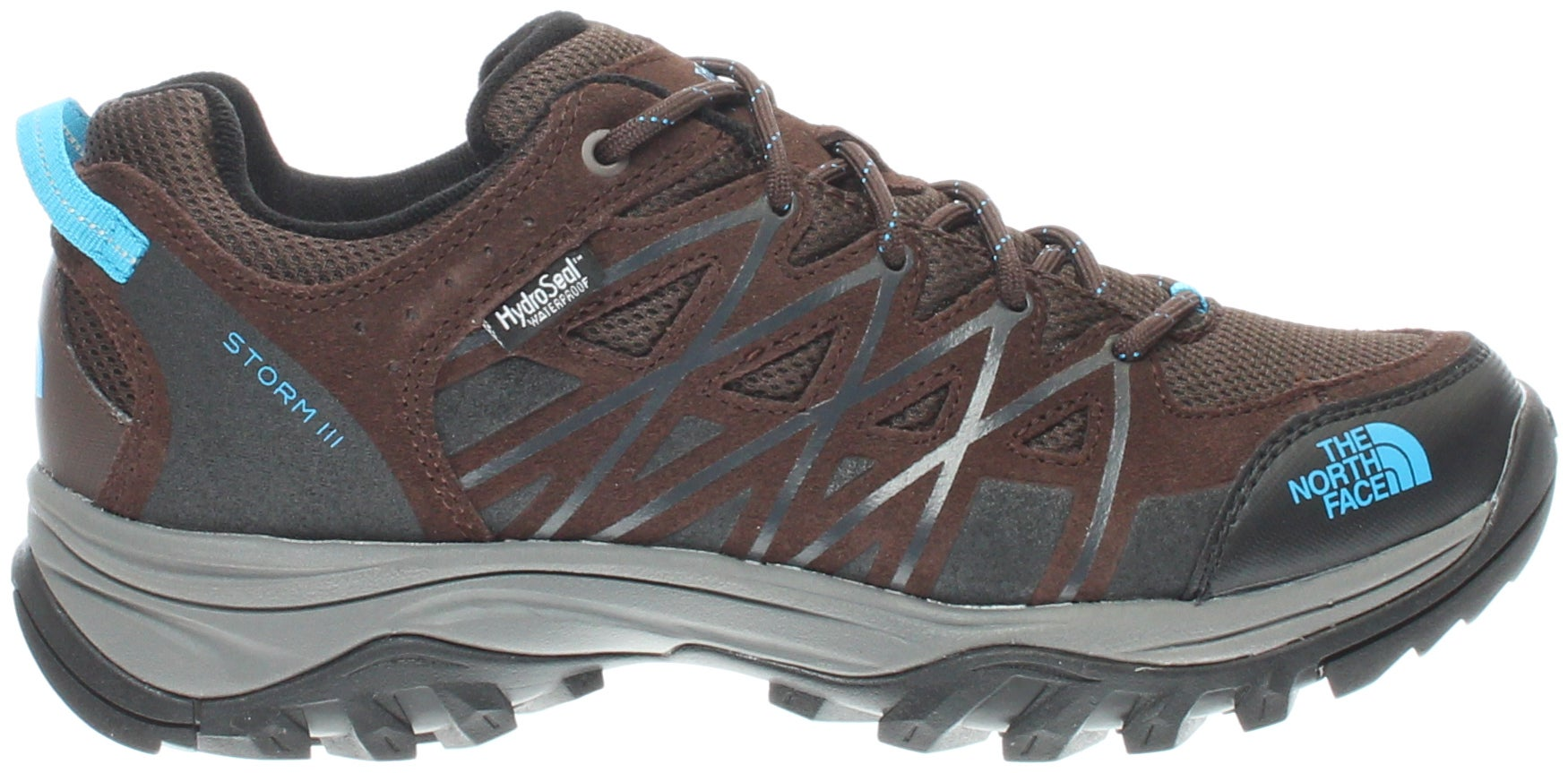 459bf04cad5 THE NORTH FACE STORM III WP brown hiking shoes and get free shipping ...