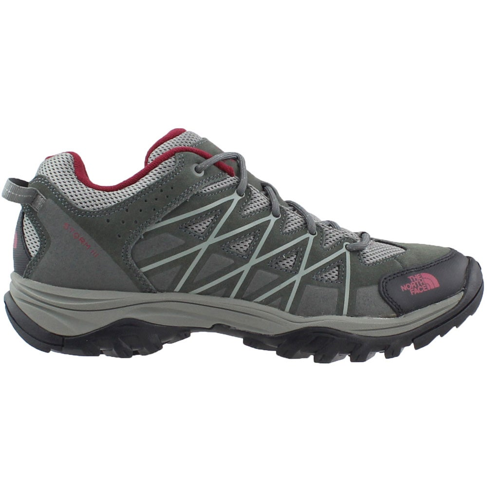 North Face Storm III Low Grey Mens Lace