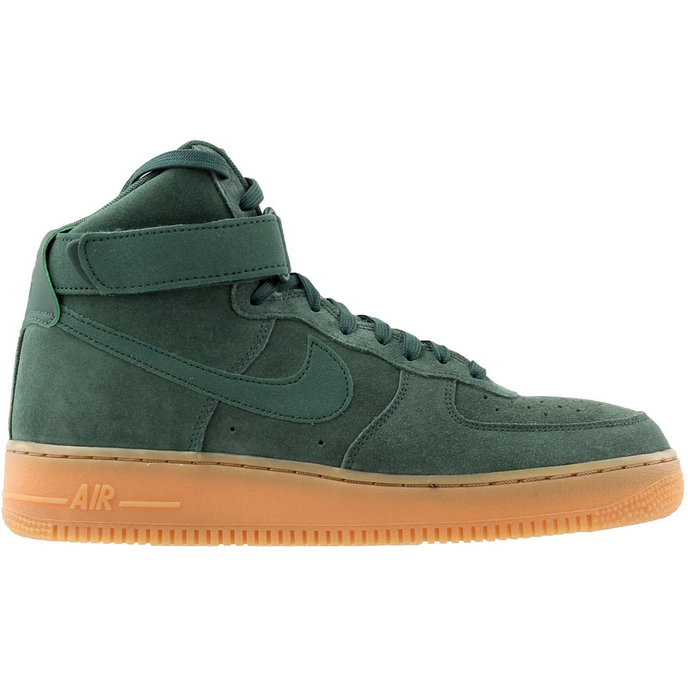 Details about Nike Air Force 1 High  07 Lv8 Suede Sneakers Green - Mens -  Size 11 D af882943e