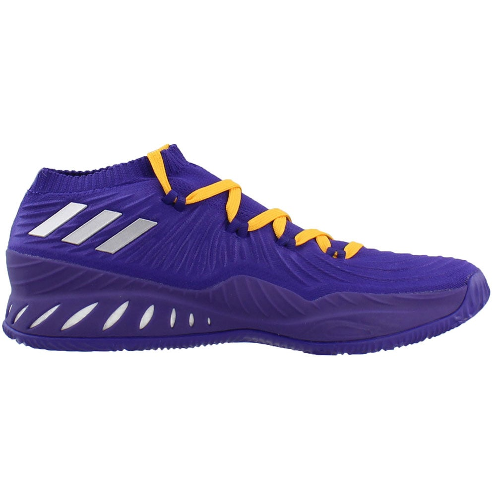 hot sale online 9043f 6aaa3 Details about adidas SM Crazy Explosive Low NBANCAA BC Sneakers Purple -  Mens - Size 13.5 D