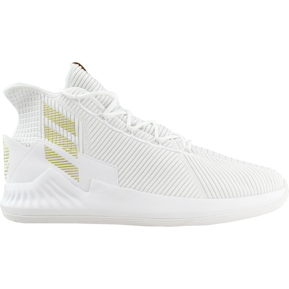 save off 051a9 56c6d Details about adidas D Rose 9 Basketball Shoes - White - Mens