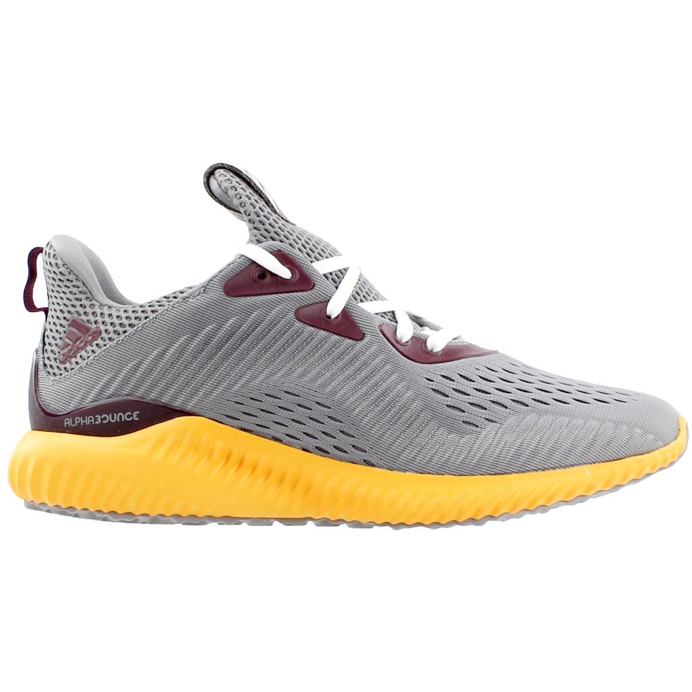 premium selection f0912 f57d3 Details about adidas Alphabounce EM University Running Shoes - Grey - Mens