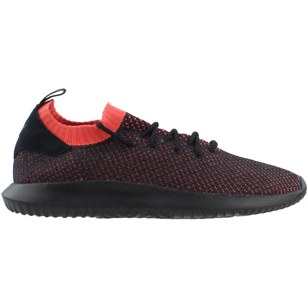 adidas Tubular Shadow Primeknit Lace Up Sneakers Black Mens Lace ...