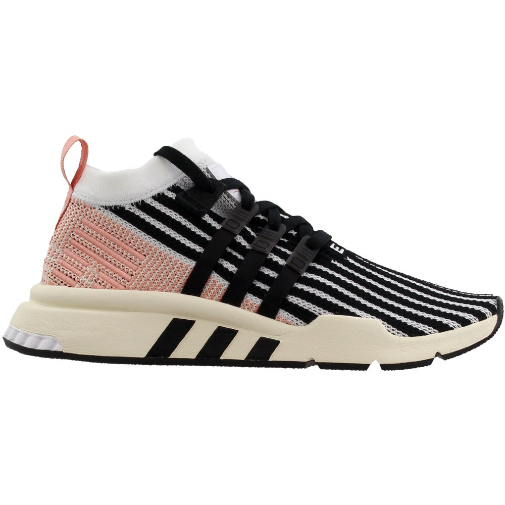 newest 2b85c 4d505 Details about adidas EQT Support Mid ADV Primeknit Sneakers - Black;White -  Mens