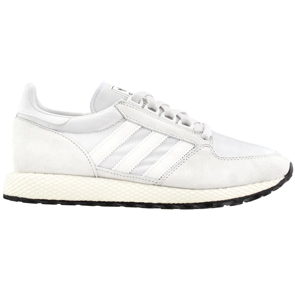adidas Forest Grove Sneakers White Mens Lace Up, Sportstyle Sneakers