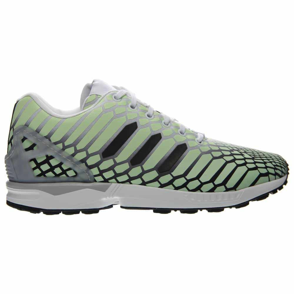 premium selection 4c058 c0d9f Details about adidas ZX Flux Running Shoes - White - Mens