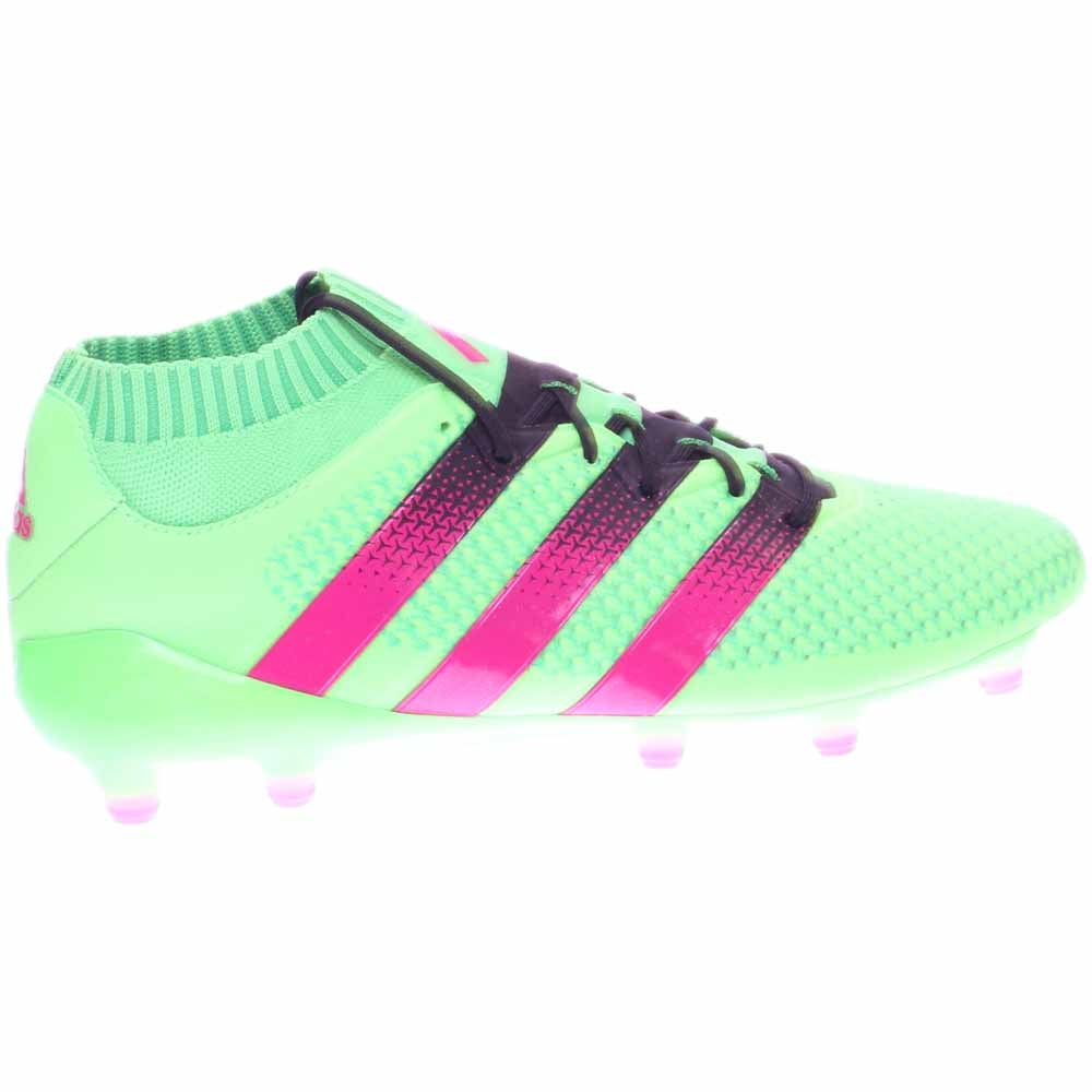 cdb5bacfe6ae8 Details about adidas ACE 16.1 PRIMEKNIT FG AG Sneakers - Green - Mens