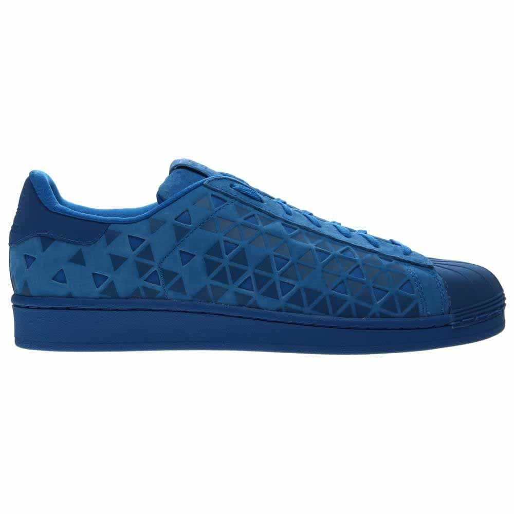 b53e080d8ca Details about adidas SUPERSTAR Sneakers - Blue - Mens